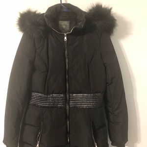 Women Guess Puffy long winter coat jacket M Médium